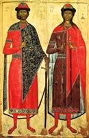July 24; Holy Martyrs Borys and Hlib Named Roman and David at Baptism