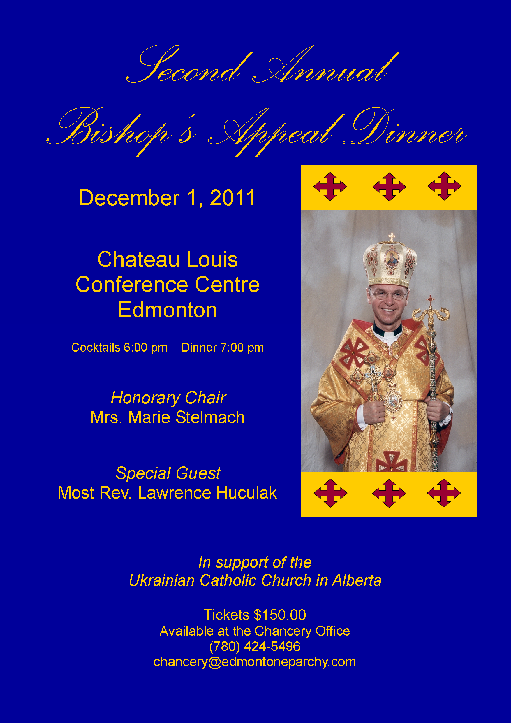 Second Annual Bishop's Appeal Dinner