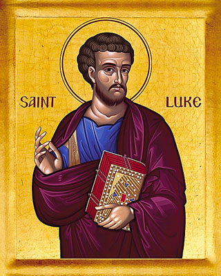 Oct 18; Holy Apostle and Evangelist Luke
