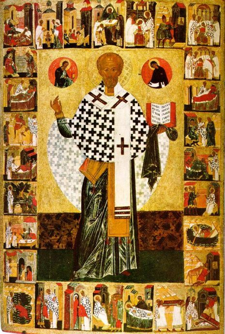 Dec 06; Our Holy Father Nicholas the Wonderworker, Archbishop of Myra in Lycia