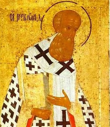 Jan 25: Our Holy Father Gregory the Theologian,  Archbishop of Constantinople