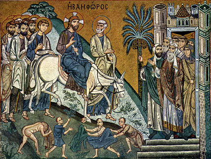 April 14; Palm (Flowery) Sunday – The Lord's Entrance into Jerusalem