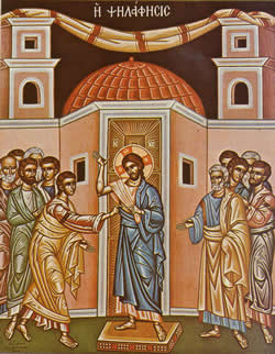 April 28, Second Sunday after Pascha. Thomas Sunday.