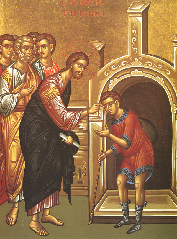 Sunday, May 26 Sixth Sunday after Pascha. Sunday of the Man Born Blind, Octoechos Tone 5; The Holy Apostle Carpus, One of the Seventy Disciples