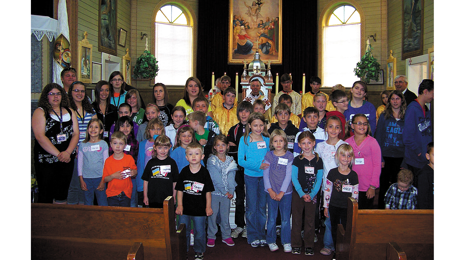 NEW KIEW CHILDREN'S CAMP 2012