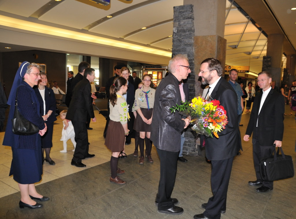 Canadian Soil Welcomes the Father and Head of the UGCC (ENG/UKR)