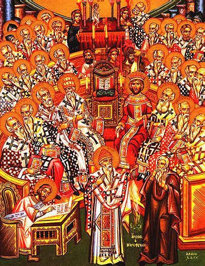 Sunday, June 2; Seventh Sunday after Pascha. Sunday of the Holy Fathers of the First Ecumenical Council of Nicaea, Octoechos Tone 6; Our Holy Father Nicephorus the Confessor (829)