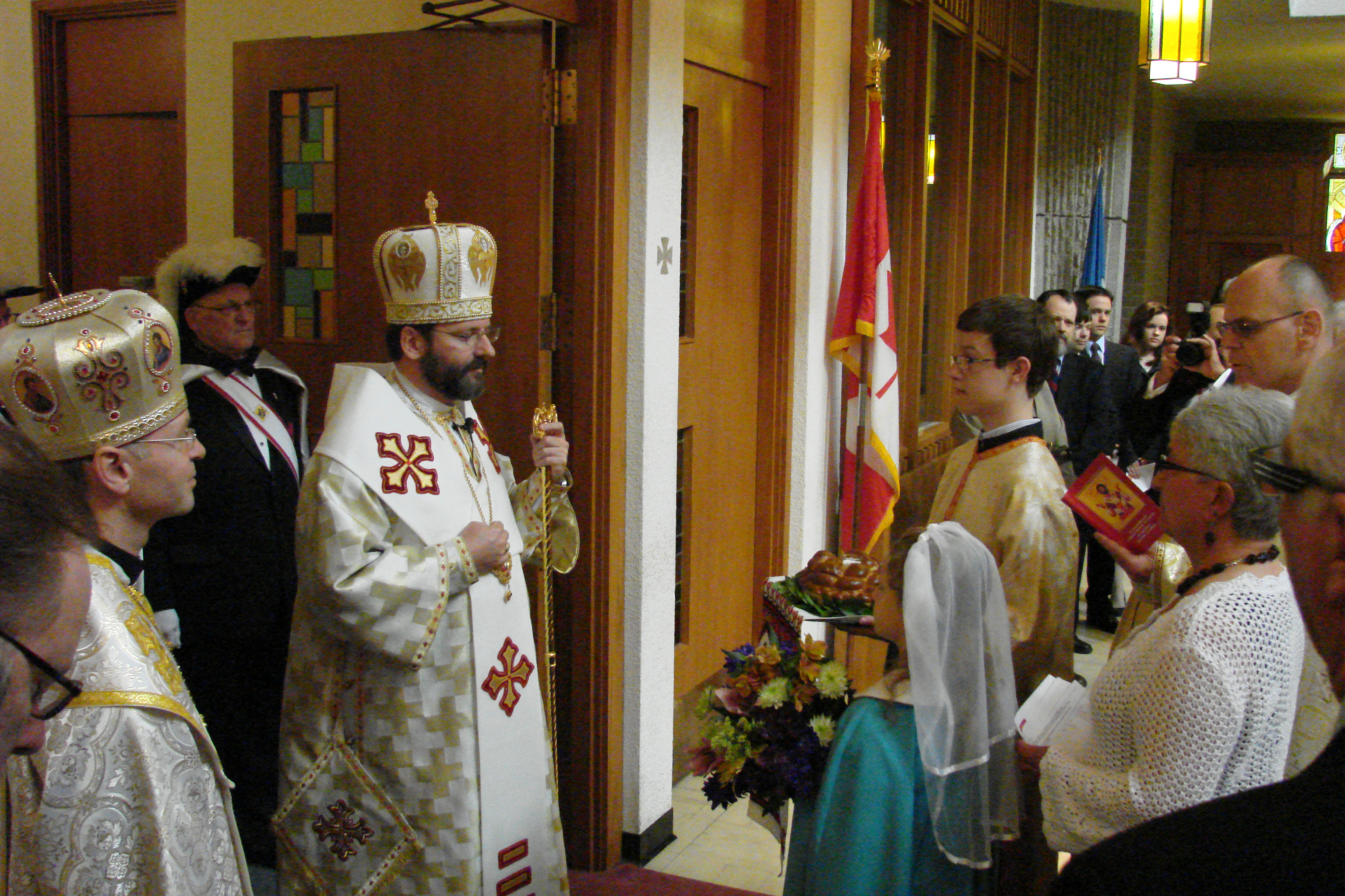Patriarchal Visit – June 09 – Greeting at St. Basil Cultural Centre on the Occasion of the 100th Anniversary of the Appointment of  Bishop-Martyr Nykyta Budka (ENG/UKR)