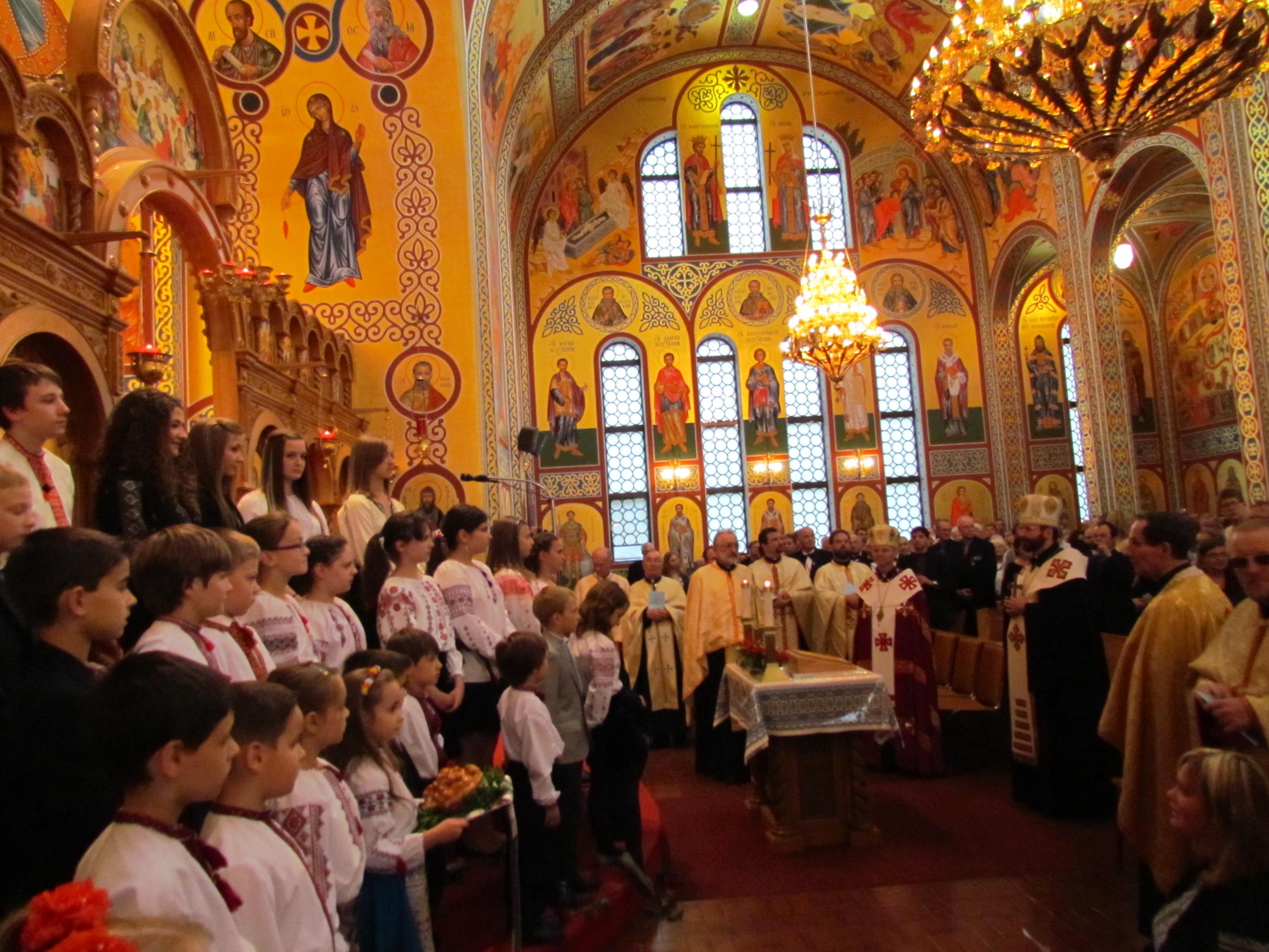 Dave Kostiuk, Chair, Ukrainian Catholic Council (Centralia): Moleben of Thanksgiving, Saint George Parish