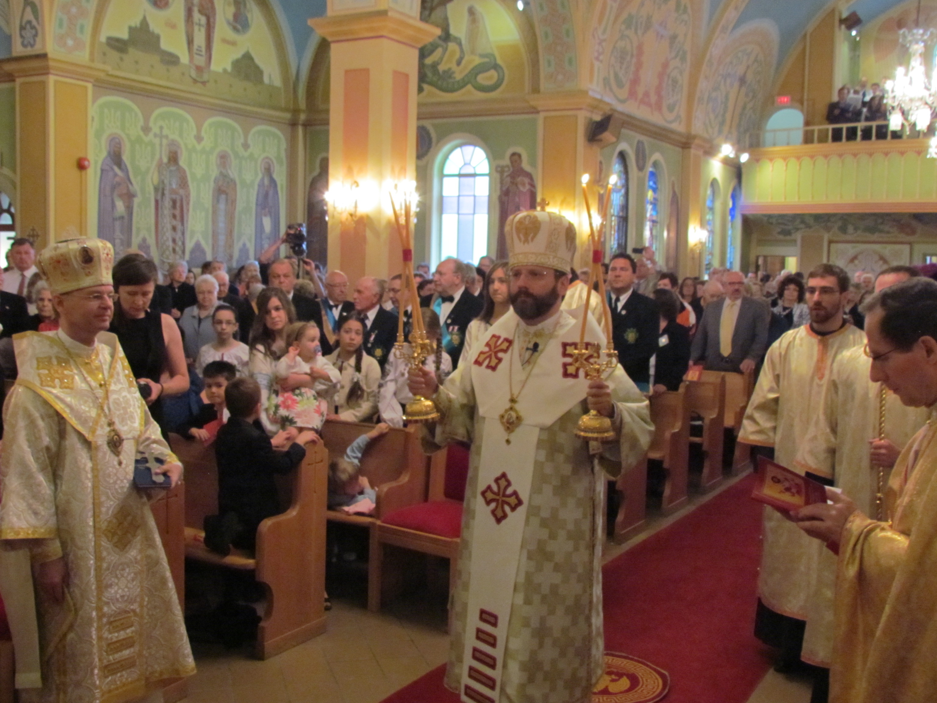 Patriarchal Visit – June 10 – Greeting at St. Josaphat Cathedral (ENG/UKR)