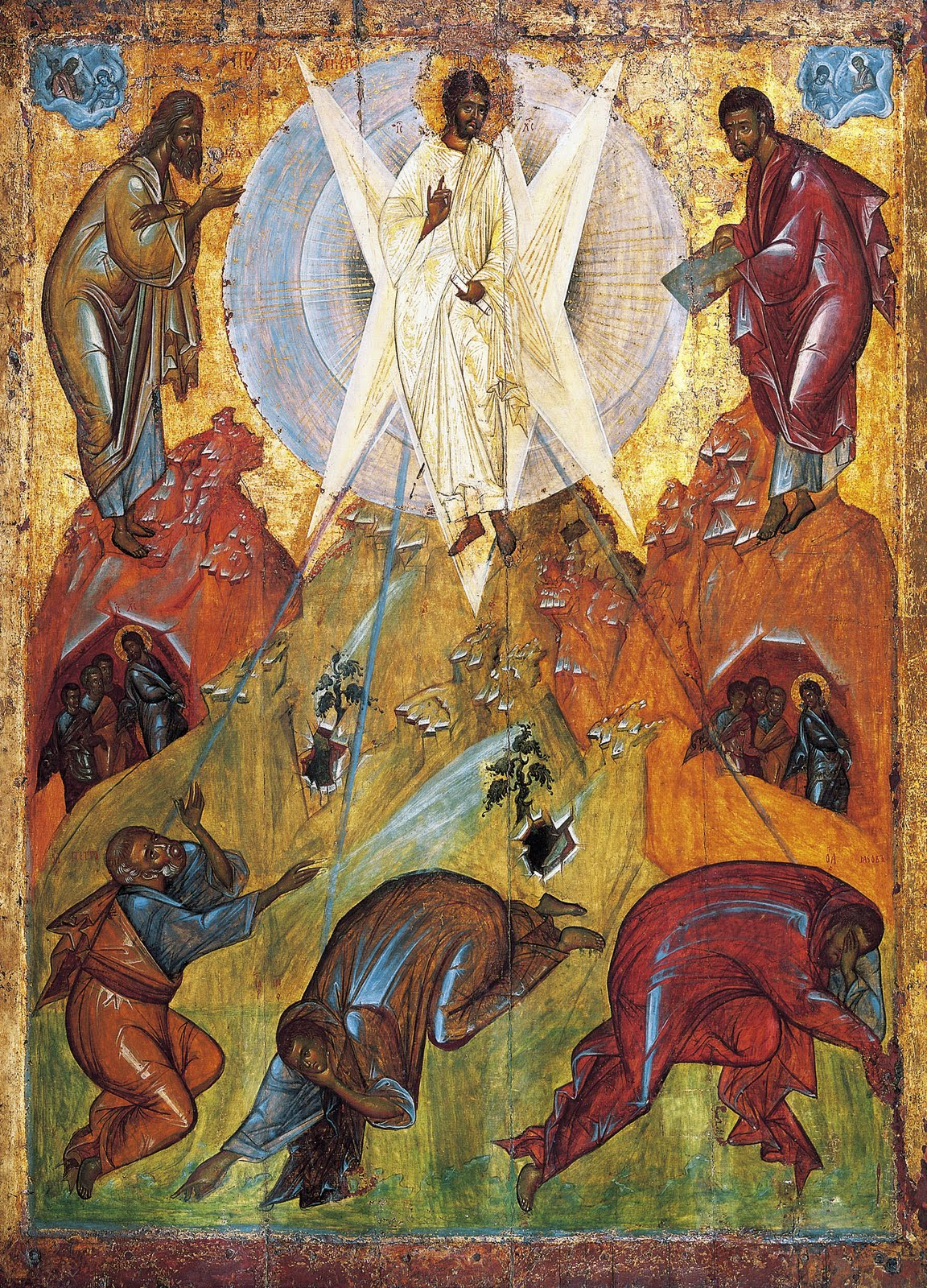 Aug 6; The Holy Transfiguration of Our Lord, God and Saviour Jesus Christ