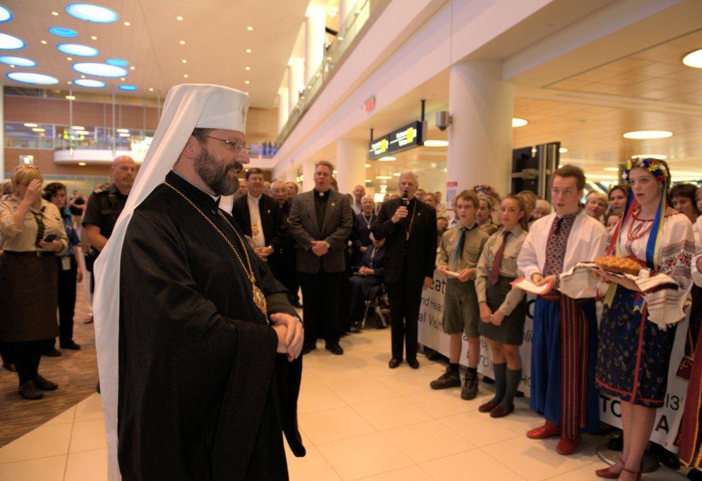 UGCC: Patriarch Sviatoslav in Winnipeg