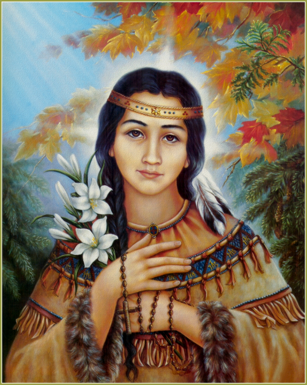 VIDEO: Saint Kateri Tekakwitha: Mohawk Mystic of North America