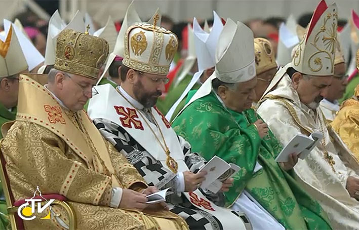 UGCC Head participates for the first time in Synod of Bishops of Catholic Church