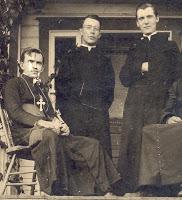 Bishop Budka, Fathers Jean and Bala. Sifton, January 1913