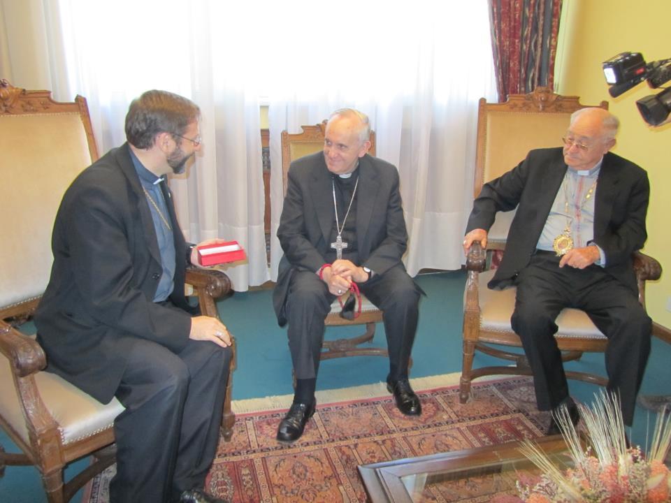 PATRIARCH SVIATOSLAV: NEWLY ELECTED POPE KNOWS UKRAINIAN CATHOLIC CHURCH, ITS LITURGY AND SPIRITUALITY