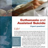 EUTHANASIA AND ASSISTED SUICIDE – URGENT QUESTIONS