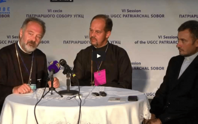 VIDEO: Vision 2020 – Press-conference with Bishop Bohdan Danylo and Fr. Andrew Onuferko (UKR)