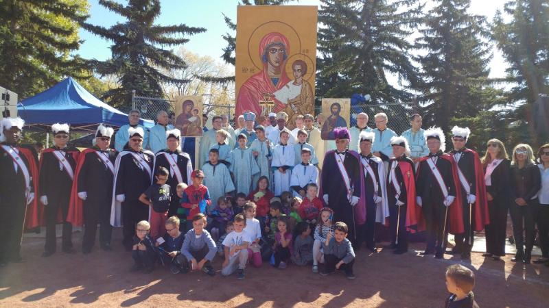 Praznyk reached out to the community: The Holy Spirit at work at Festival of the Mother of God