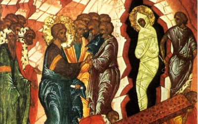 April 4; Lazarus Saturday; Our Venerable Fathers Joseph the Hymnographer (886) and George of Maleum