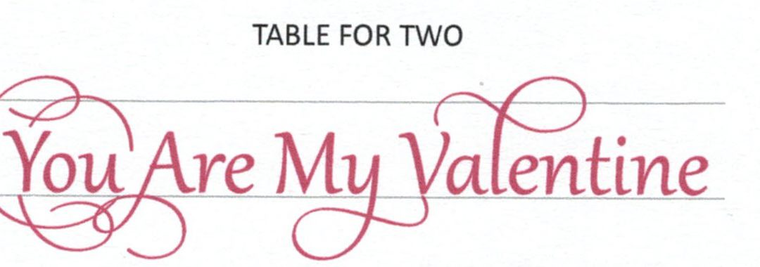 Table for Two: Are you My Valentine