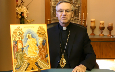 VIDEO: Bishop David's Paschal Message 2018 (ENG/UKR)