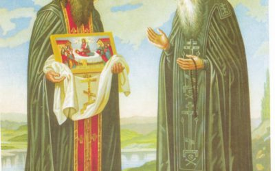 May 3 – Repose of our Venerable Father Theodosius, Hegumen of the Monastery of the Caves at Kyiv (1074); Holy Martyrs Timothy and Maura