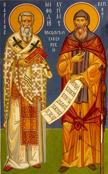 May 11 – Holy Cyril and Methodius, Teachers of the Slavs and Equals to the Apostles