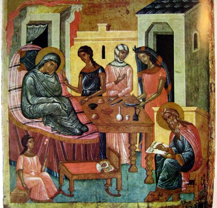 June 24, 2018 – Fifth Sunday after Pentecost, Tone 4; the Nativity of the Honourable and Glorious Prophet John, Forerunner and Baptist of Christ (Apostle's Fast)