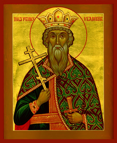 July 15, 2018 – Eighth Sunday after Pentecost, Tone 7; the Holy Grand Prince Vladimir (Volodymyr), Equal-to-the-Apostles, Named Basil at Holy Baptism (1015); Holy Martyrs Cyricus and Julitta, His Mother
