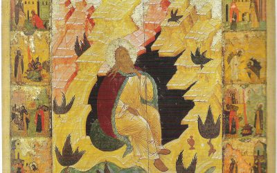 July 20; The Holy and Glorious Prophet Elijah (Elias) (9th c. BC)