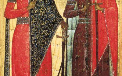 July 24; Holy Martyrs Borys and Hlib Named Roman and David at Baptism