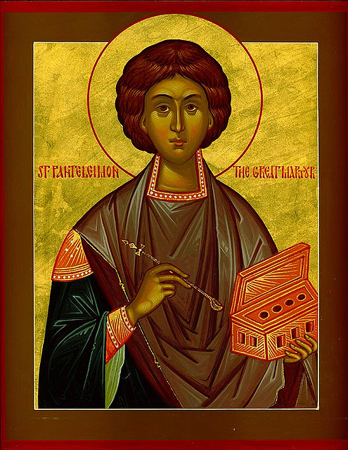 July 27; Holy Great Martyr and Healer Panteleimon