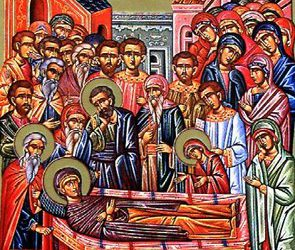 July 25; Dormition of St. Anna, Mother of the Most Holy Theotokos