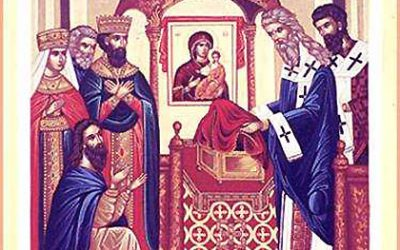August 31, 2018 – The Placing of the Sash of our Most Holy Lady the Mother of God in Calcoprateia (942)