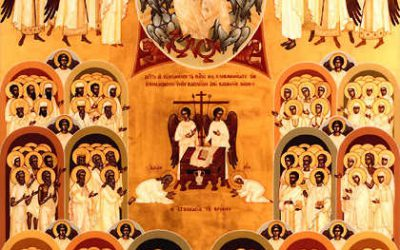 June 7; First Sunday after Pentecost. All Saints Sunday, Tone 8