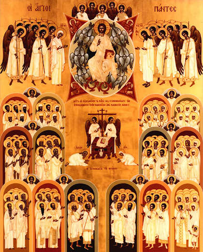 May 30: First Sunday after Pentecost. All Saints Sunday.