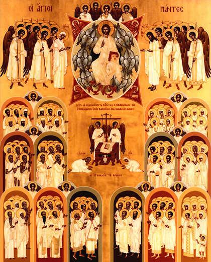 Sunday, May 27 – Sunday of All Saints