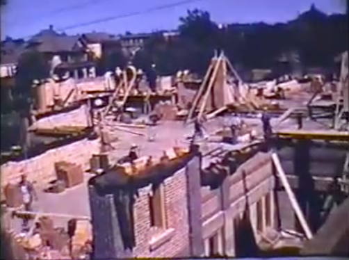VIDEO: Building of St. Josaphat Cathedral, Edmonton, Alberta