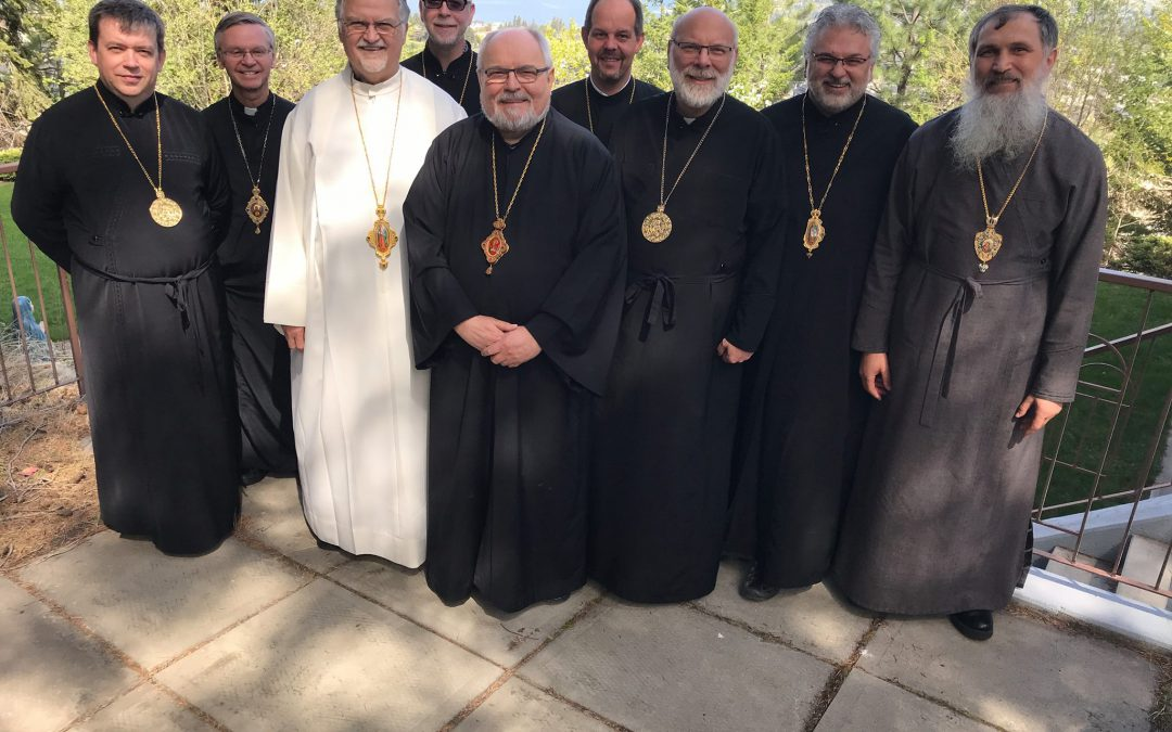 Annual Meeting of the Ukrainian Catholic Bishops of Canada and the United States of America – May 1-3, 2018
