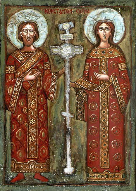 May 22 – Holy Great Rulers Constantine and Helen, Equal to the Apostles  Transferred from May 21