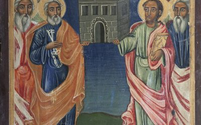 June 29: Holy, Glorious, All-Praiseworthy and Chief Apostles, Peter and Paul (Eng/Ukr)