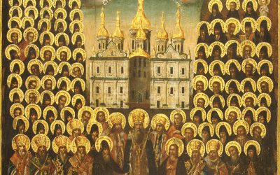 June 28: Fourth Sunday after Pentecost, Tone 3; Sunday of All Saints of Rus'-Ukraine (Eng/Ukr)