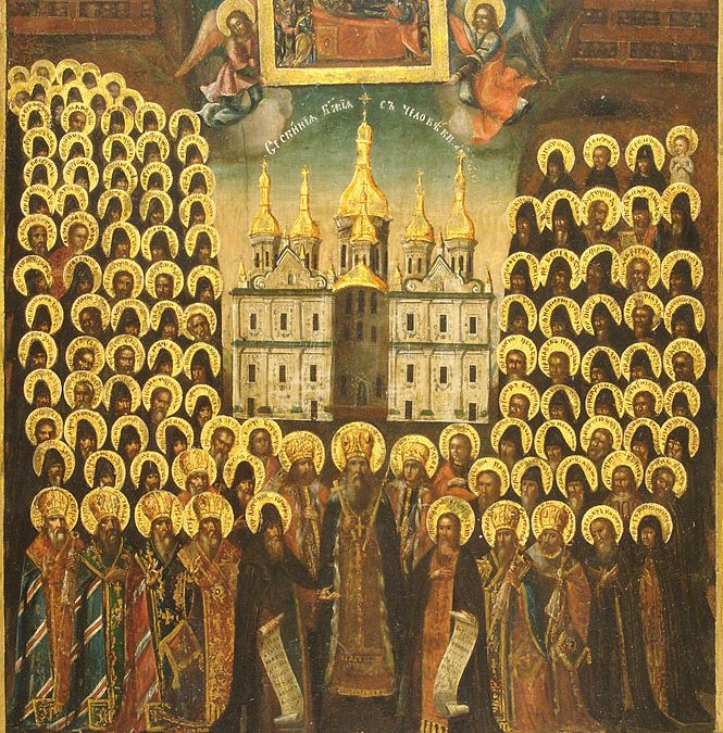 July 07; Fourth Sunday after Pentecost, Sunday of All Saints of Rus'-Ukraine, Tone 3; Our Venerable Father Thomas of Maleum; and Acacius mentioned in The Ladder of Divine Ascent of Saint John Climacus