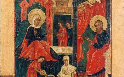 Sept 8; Nativity of our Most Holy Lady, the Mother of God and Ever-Virgin Mary