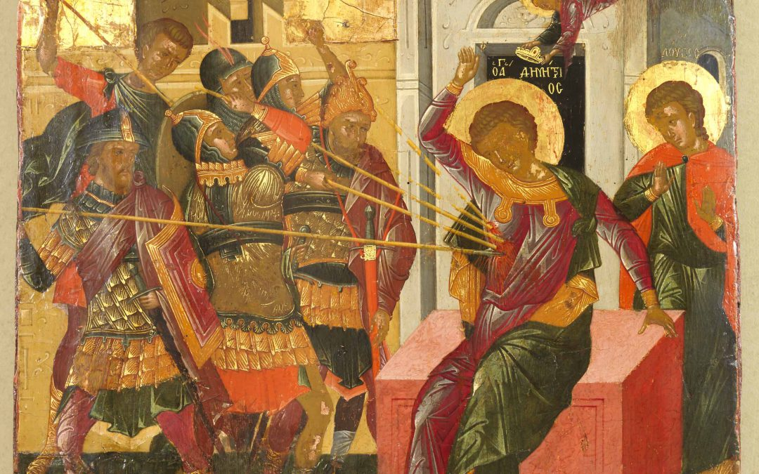 October 26; Holy and Glorious Great-Martyr Demetrius; Commemoration of the Great and Terrible Earthquake at Constantinople in 741