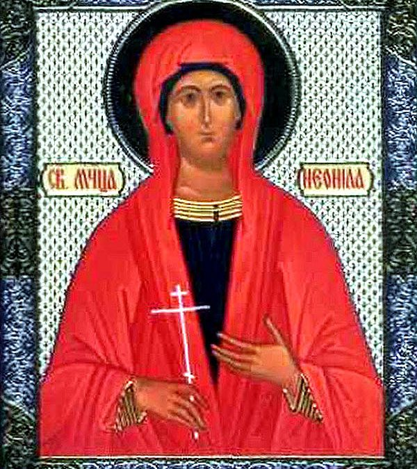 October 28; Twenty-third Sunday after Pentecost, Tone 6; the Holy Martyrs Terentius and Neonila; Our Venerable Father Stephen the Sabaite, Composer of Canons (9th c.); the Holy Martyr Parasceve of Iconium