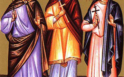 November 18; Twenty-sixth Sunday after Pentecost, Tone 1; the Holy Martyrs Plato (286-305) and Roman (305)