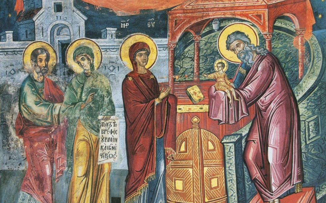 February 3; Sunday of Zaccheus, Tone 4; Post-feast of the Encounter; the Holy and Just Simeon Who Received God and the Prophetess Anna