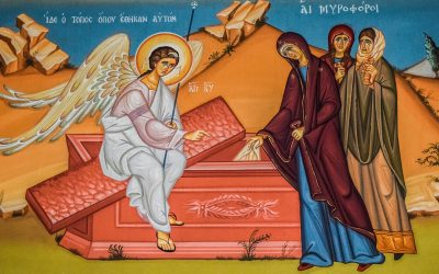 April 26; Third Sunday of Pascha: Sunday of the Myrrh-Bearing Women;The Holy Priest-Martyr Basil, Bishop of Amasia (c. 322)